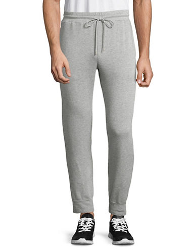 Velvet By Graham And Spencer Luxe Fleece Jogging Pants-GREY-Large