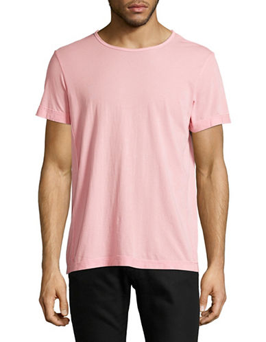 Velvet By Graham And Spencer Pigment Dye Whisper T-Shirt-PINK-Small
