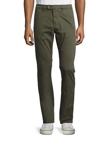John Varvatos Star U.S.A. Slim-Fit Sport Pants-GREEN-40
