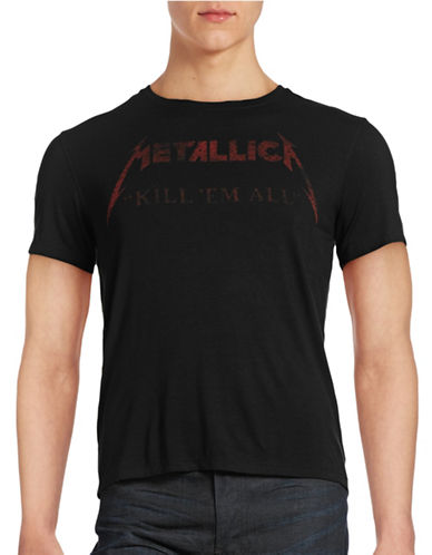 John Varvatos Star U.S.A. Metallica Drop Logo T-Shirt-BLACK-XX-Large 88651169_BLACK_XX-Large
