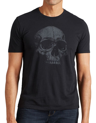 John Varvatos Star U.S.A. Skull T-Shirt-BLACK-Small