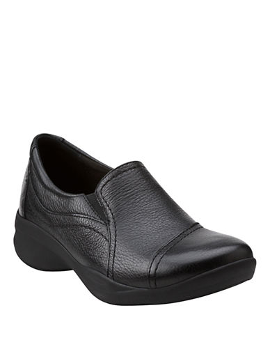 Clarks In Motion Kick-BLACK-6.5