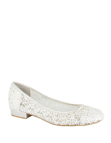Menbur Maderly Lace Flats-IVORY-10