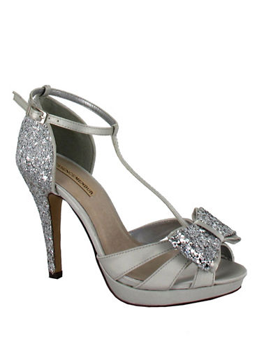 Menbur Bornehl T-Bar Sandals-SILVER-9