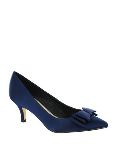 Menbur Pechora Satin Pumps-NAVY-9