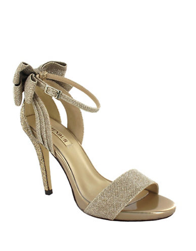 Menbur Celosia Ankle Strap Glitter Sandals-STONE-10