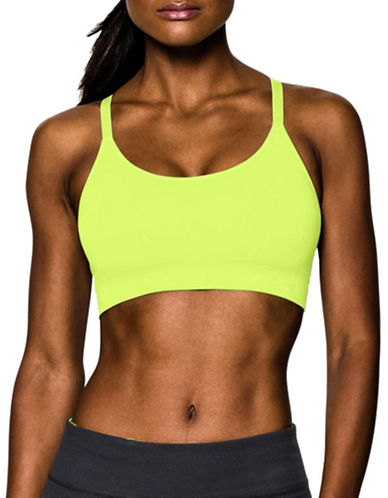 Under Armour Seamless Essential Sports Bra-YELLOW-X-Small 88511511_YELLOW_X-Small