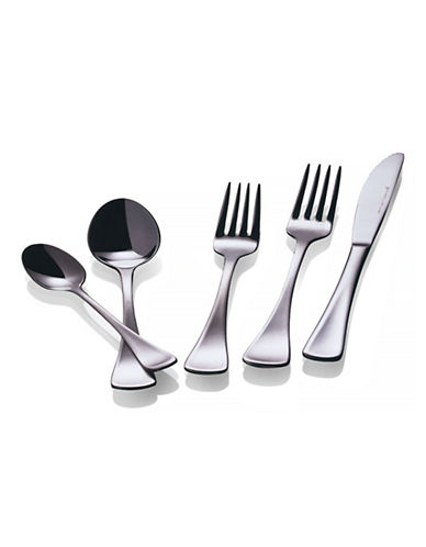 Maxwell & Williams Cosmopolitan 20 Piece Flatware Set-SILVER-One Size