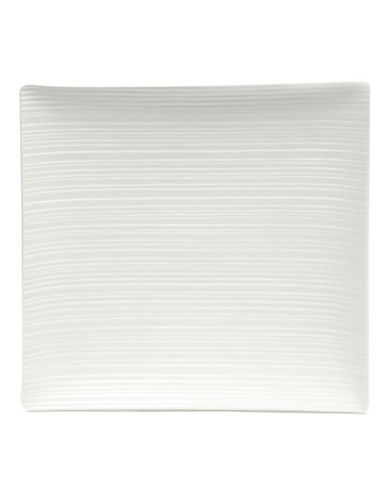Maxwell & Williams Cirque Square 33 cm Platter-WHITE-One Size