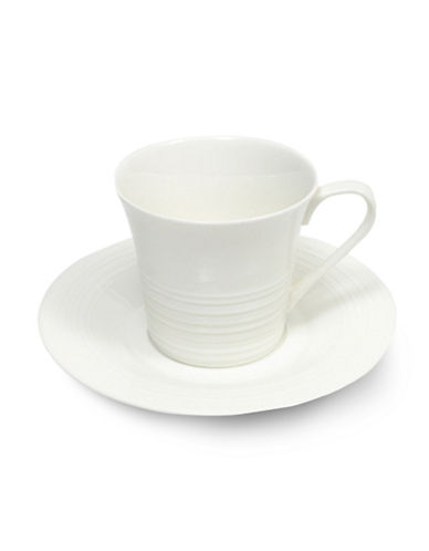 Maxwell & Williams Cirque Cup and Saucer-WHITE-One Size