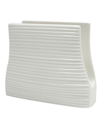 Maxwell & Williams Cirque Napkin Holder-WHITE-One Size