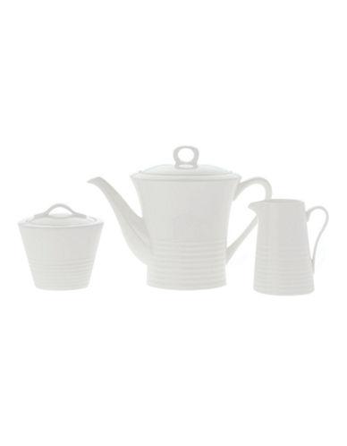 Maxwell & Williams Cirque 3 Pc. Tea Set-WHITE-One Size