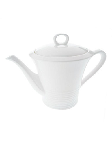 Maxwell & Williams Cirque Teapot-WHITE-One Size