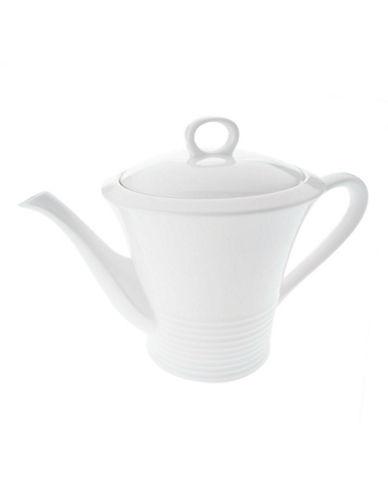 Maxwell & Williams Cirque Teapot-WHITE-One Size
