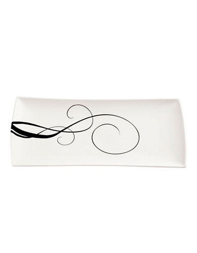 Maxwell & Williams Breeze Rectangular Plate-WHITE-Large