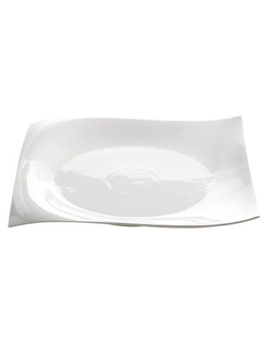 Maxwell & Williams Motion Square Platter 30Cm-WHITE-One Size
