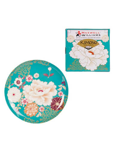 Maxwell & Williams Kimono Cake Plate-TEAL-One Size 84203255_TEAL_One Size