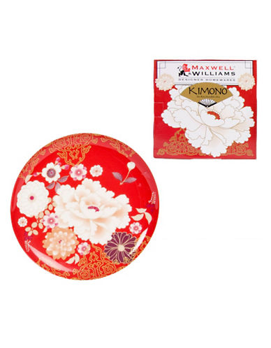 Maxwell & Williams Kimono Cake Plate-RED-One Size 84203257_RED_One Size
