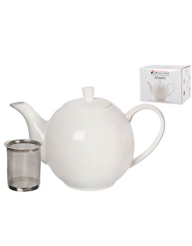 Maxwell & Williams Infusions Teapot-WHITE-One Size