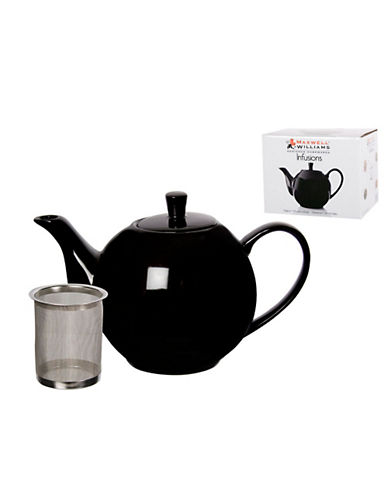 Maxwell & Williams Infusions Teapot-BLACK-One Size