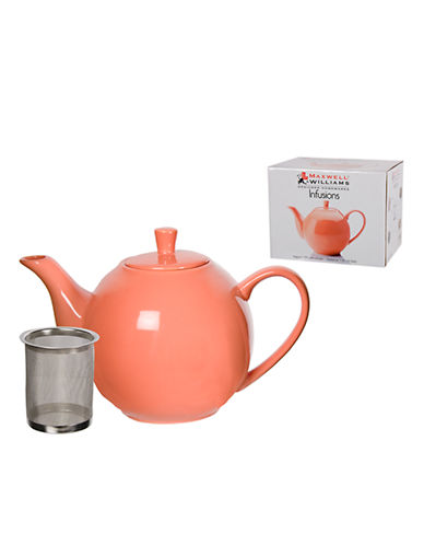 Maxwell & Williams Infusions Teapot-CORAL-One Size