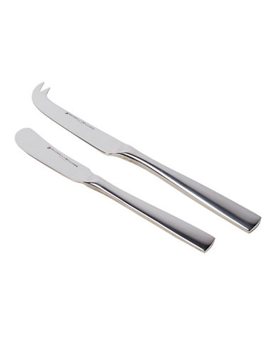 Maxwell & Williams Motion Cheese Spreader Set-STAINLESS STEEL-One Size
