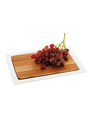 Maxwell & Williams Bamboo Basics Rectangular Platter-WHITE-32