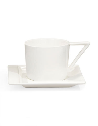 Maxwell & Williams ZiiZ Demi Cup and Saucer-WHITE-One Size 86719795_WHITE_One Size