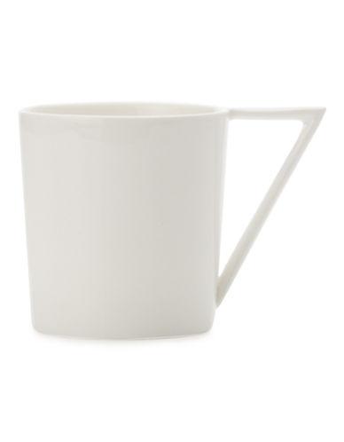 Maxwell & Williams ZiiZ Rectangular Mug-WHITE-One Size