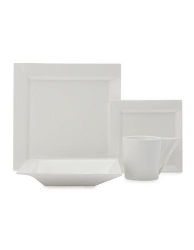Maxwell & Williams ZiiZ 16 Piece Dinner Set-WHITE-One Size