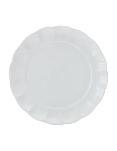 Maxwell & Williams Charming Four-Piece Dinner Plate Set-WHITE-One Size