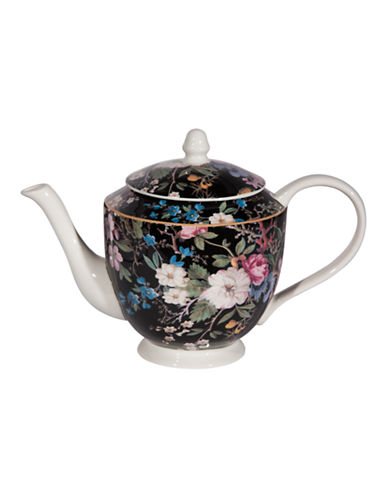 Maxwell & Williams William Kilburn Midnight Blossom Teapot-MULTI-1L 86875487_MULTI_1L