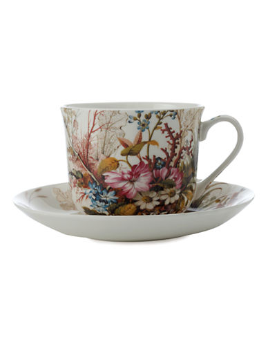 Maxwell & Williams William Kilburn Ocean Fantasy Breakfast Cup and Saucer-MULTI COLOURED-One Size 86875490_MULTI COLOURED_One Size