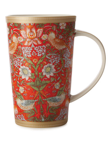 Maxwell & Williams William Morris Strawberry Red Conical Mug-ASSORTED-One Size 87332945_ASSORTED_One Size