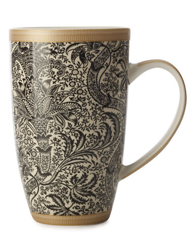 Maxwell & Williams William Morris Black Seaweed Coupe Mug-ASSORTED-One Size 87332948_ASSORTED_One Size