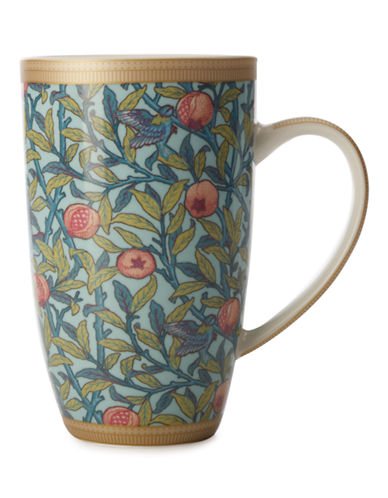 Maxwell & Williams William Morris Bird and Pomegranate Coupe Mug-ASSORTED-One Size 87332949_ASSORTED_One Size