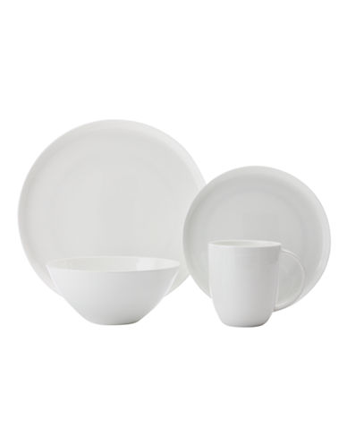 Maxwell & Williams Mansion 16 Piece Dinner Set-WHITE-One Size