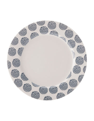 Maxwell & Williams Printed Dinner Plate - Set of 2-INDIGO-One Size