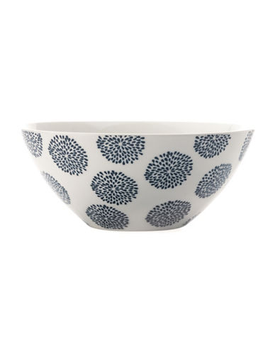 Maxwell & Williams Printed Coupe Bowl - Set of 4-INDIGO-One Size