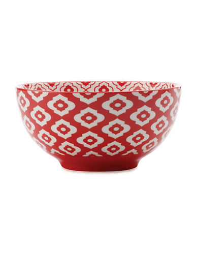 Maxwell & Williams Alcazar Bold Porcelain Small Bowl-RED-One Size