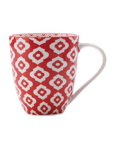 Maxwell & Williams Alcazar Bold Porcelain Mug-RED-500 ml