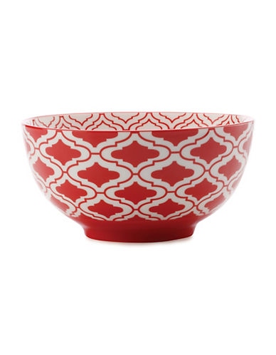 Maxwell & Williams Alcazar Kurv Porcelain Small Bowl-RED-One Size