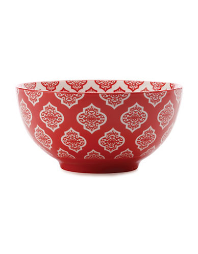 Maxwell & Williams Alcazar Porcelain Small Bowl-RED-One Size
