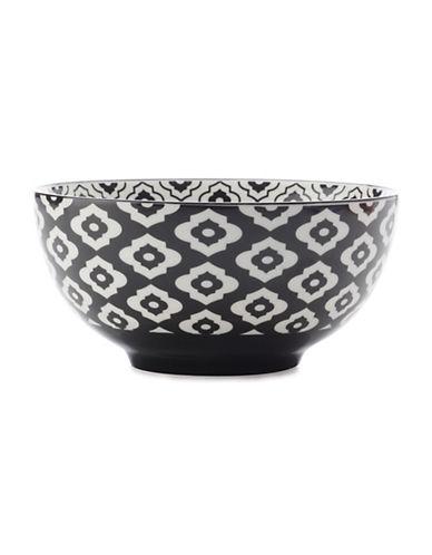 Maxwell & Williams Six-Inch Alcazar Bold Porcelain Bowl-BLACK-One Size