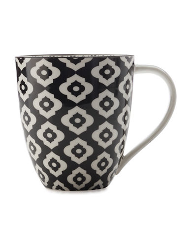 Maxwell & Williams Alcazar Bold Porcelain Mug-BLACK-500 ml 88097344_BLACK_500 ml