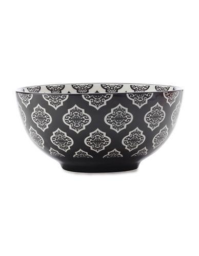 Maxwell & Williams Six-Inch Alcazar Porcelain Bowl-BLACK-One Size
