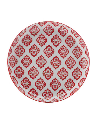 Maxwell & Williams Alcazar Porcelain Tapas Plate-RED-23