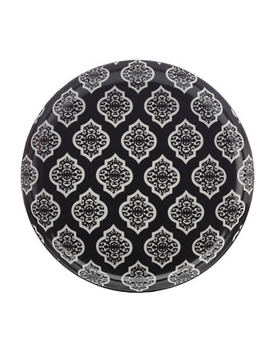 Maxwell & Williams Alcazar Porcelain Side Plate-BLACK-One Size