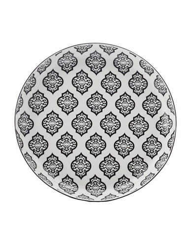 Maxwell & Williams Alcazar Porcelain Tapas Plate-BLACK-23