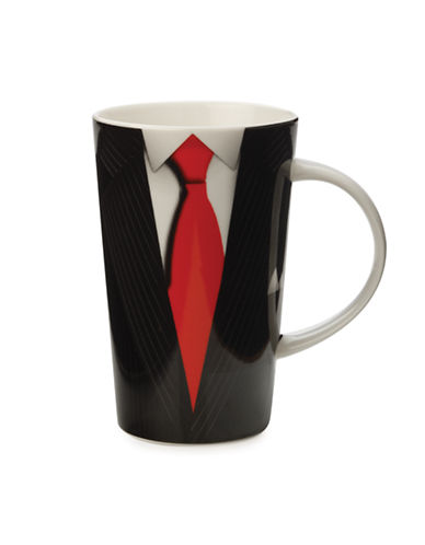Maxwell & Williams Christopher Vine Gentleman Mug-BLACK-One Size 87625768_BLACK_One Size